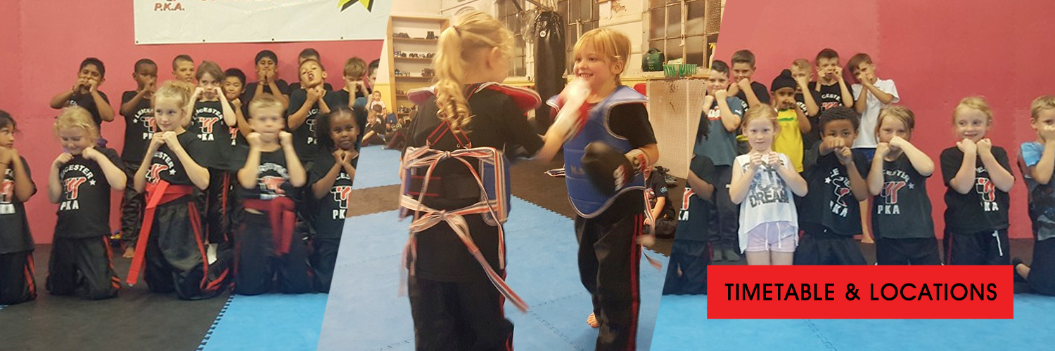 PKA Kids Martial Arts Class in Leicester