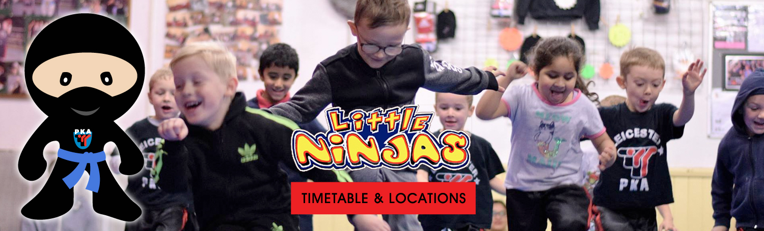 PKA Leicster Childrens Kickboxing classes