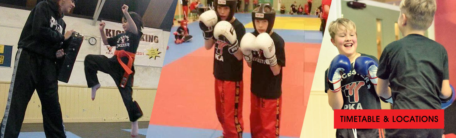 Kickboxing Classes for children in Leicester