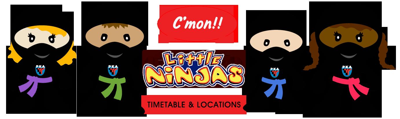 Leicester PKA little Ninjas
